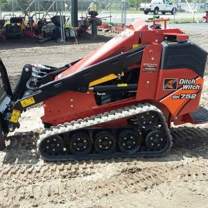 Ditch Witch mini track skid steer