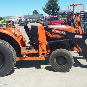 Kubota Tractor And Attachments