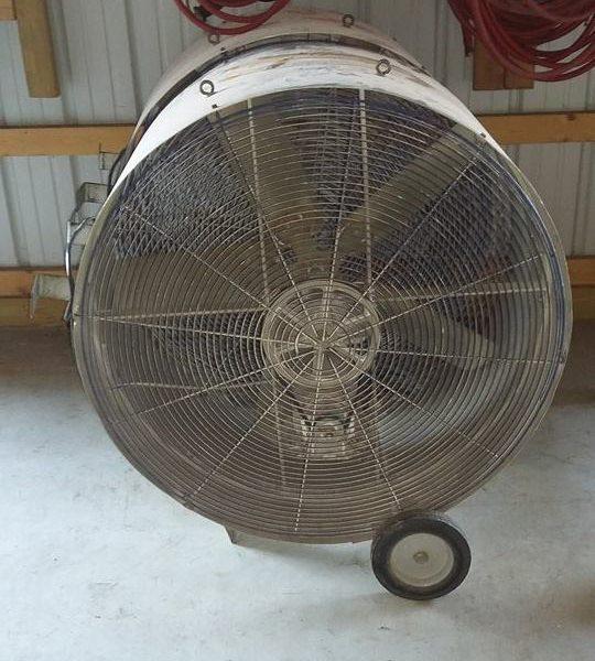 4' fan