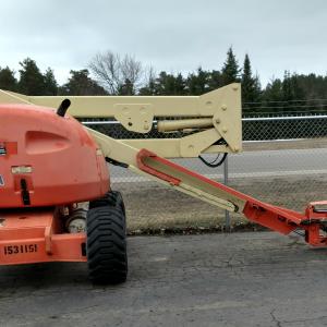 40' Driveable boom lift