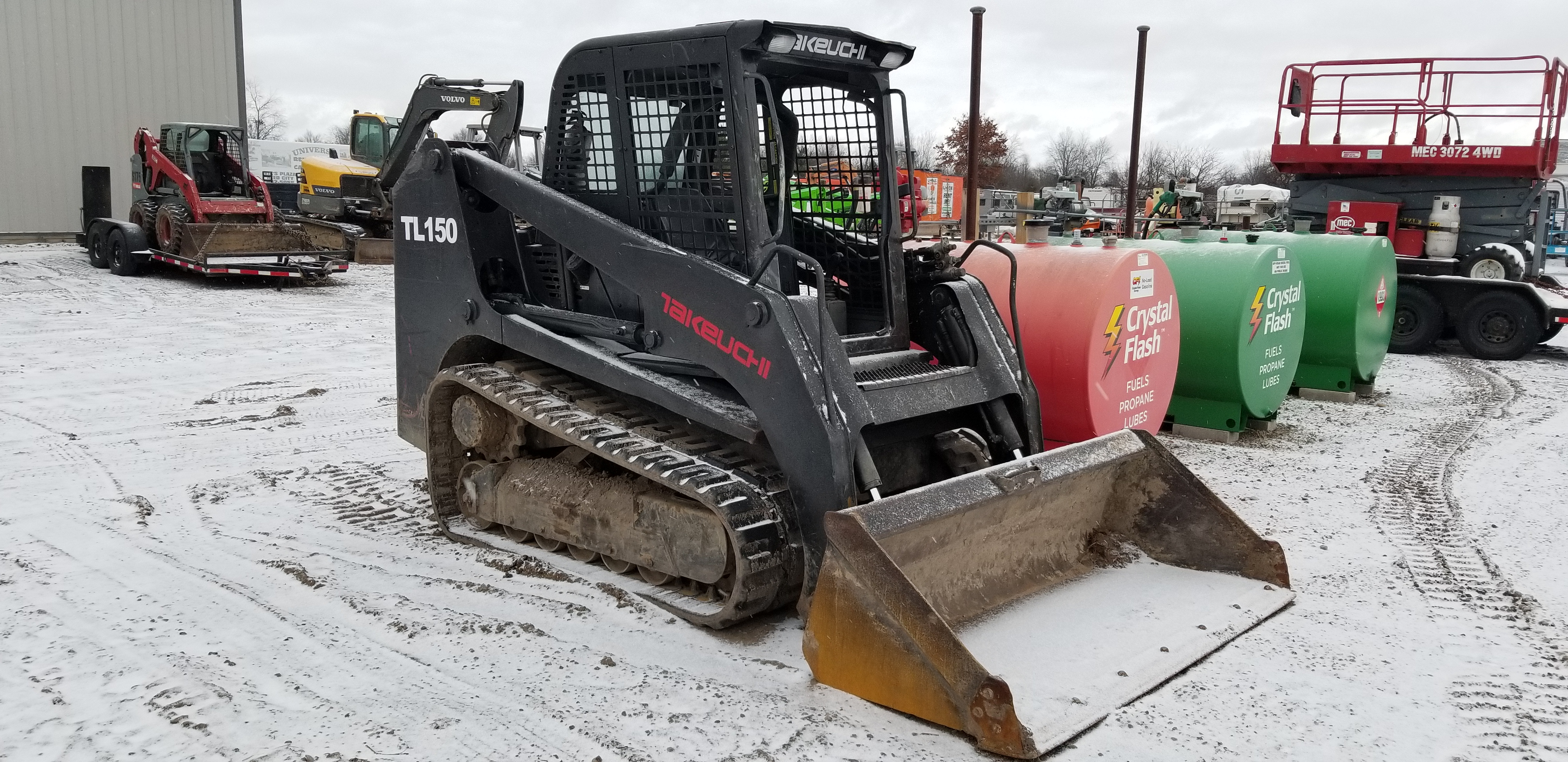 Takeuchi TL150 Tracked Skid-Steer – Universal Rent It All
