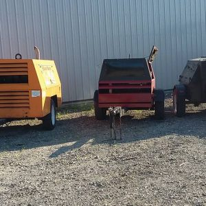 Large Tow Behind Air Compressors 210,185.130cfm