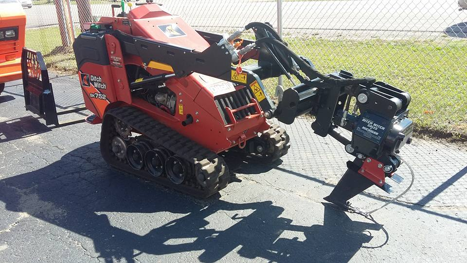 Ditch Witch Attachments – Universal Rent It All